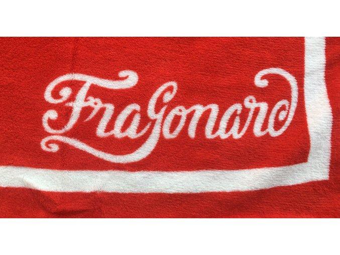 Fleecová deka Fragonard