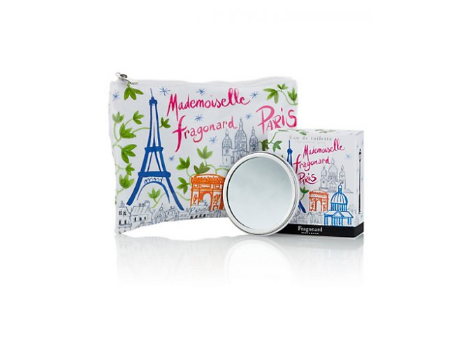 Toaletní voda v taštičce Mademoiselle Fragonard Paris