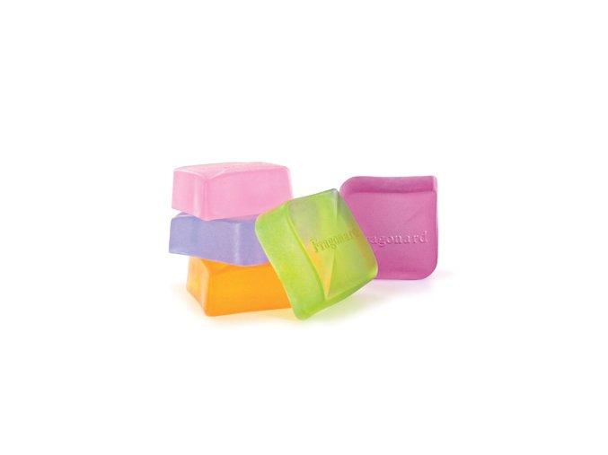 Transparentní glycerinová mýdla Fragonard
