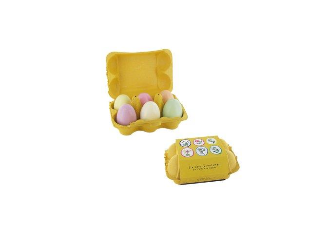 Sada mýdel ve tvaru vejce