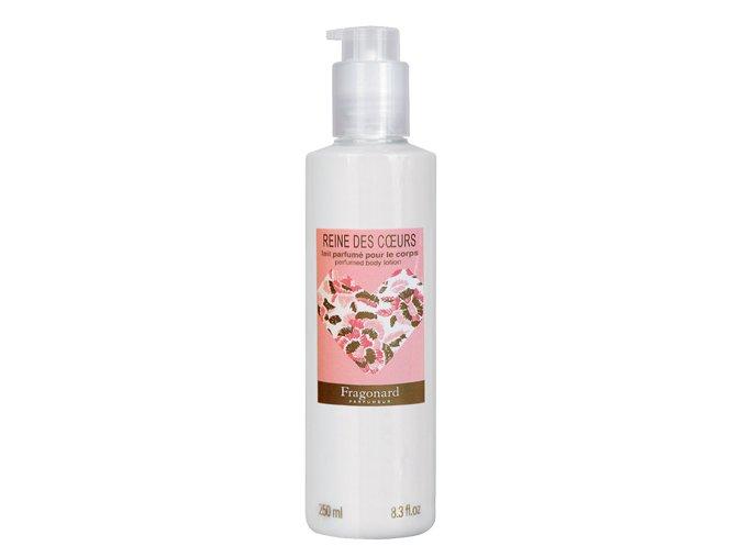 Parfémované tělové mléko REINE DES COEURS