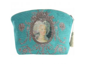 cosmetic bag portrait of marie antoinette pink (1)