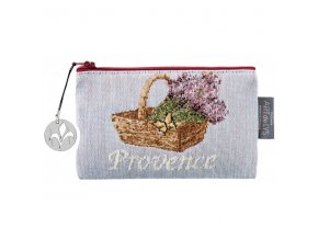 purse lavender field