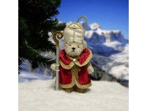 Medvídek Svatý Mikuláš 11 cm