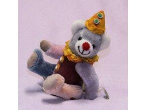Karnevalový medvídek, 18 cm