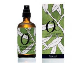 Olive tělový olej