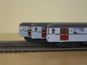 Model vozu metra EČS