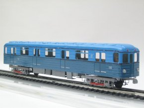 Model sovětského vozu metra typu E