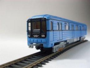 Model vozu metra 8171 (čelní)