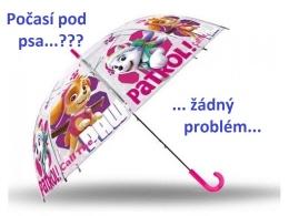 U nás najdete deštníky s krásnými motivy