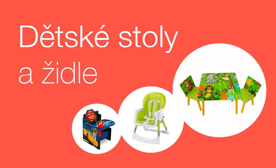 Dětské stolky a židličky