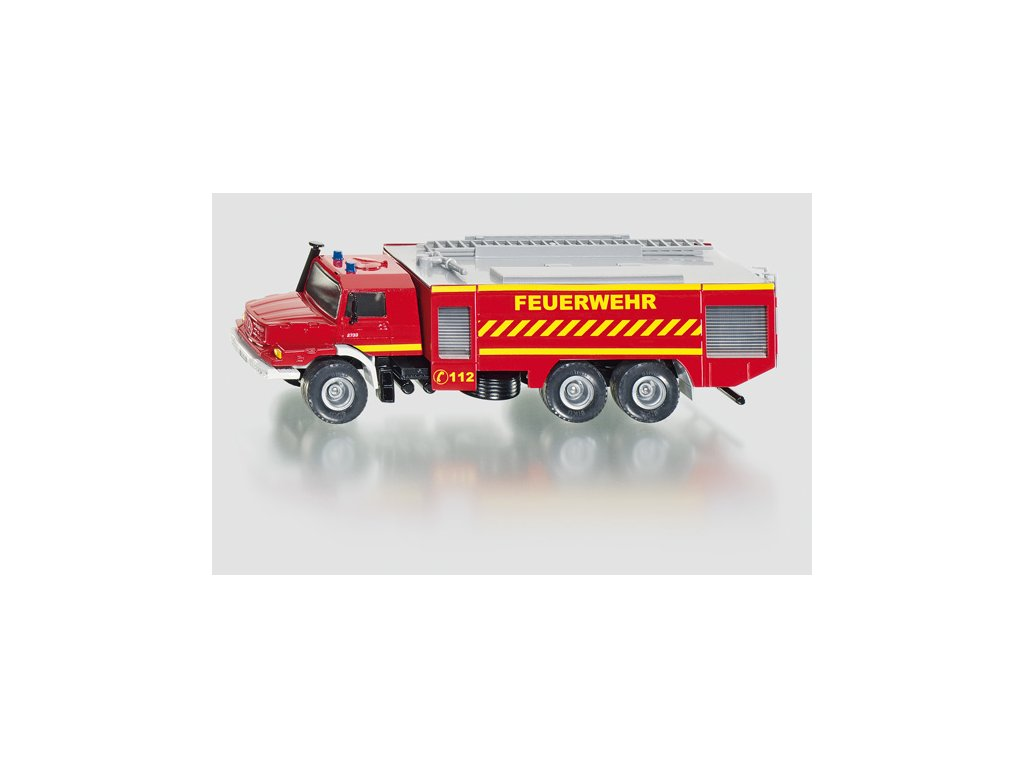 Hračka Siku Super Mercedes Zetros Fire Engine, 1:50