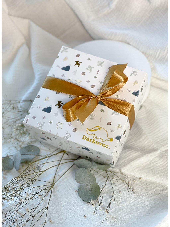 Vánoční dárková krabička malá