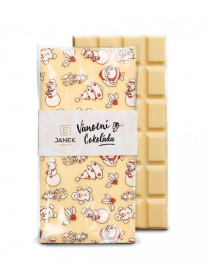 vanocni bila cokolada janek