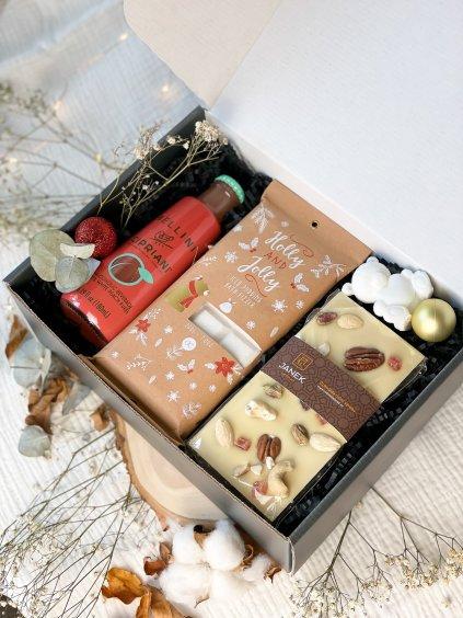 Vánoční dárkový balíček Bílá zima