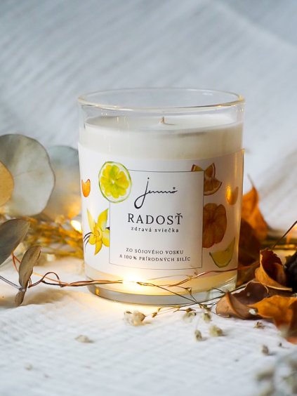Sójová svíčka Radost | Jemnô