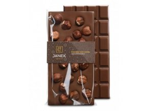 mlecna cokolada s liskovymi orechy janek