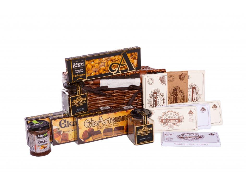 Exkluzivní výběr španělských čokoládových specialit