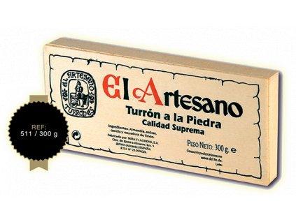 Dárkové balení Turron v dřevěném boxu