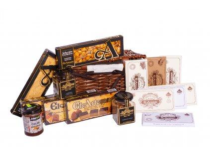 Exkluzivní výběr španělských čokoládových specialit premium