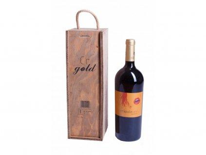 Dárkové balení Červené víno Crapula soul