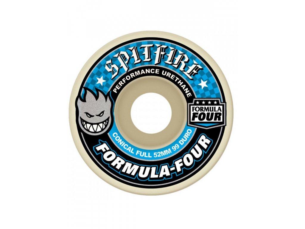 Spitfire Natural Conical Full 99DU 53mm Skateboard Wheels 0 67de4 XL