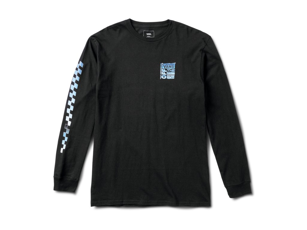 Triko Vans AVE Chrome Tee Longsleeve Black