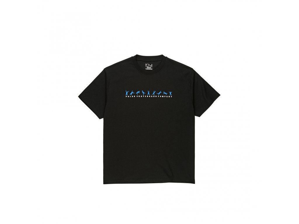 Triko Polar Cartwheel Tee Black