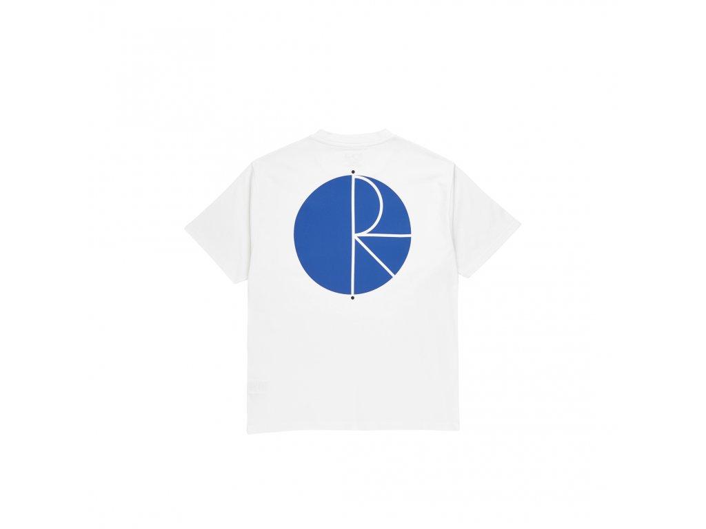 Triko Polar Fill Logo Tee White/Blue
