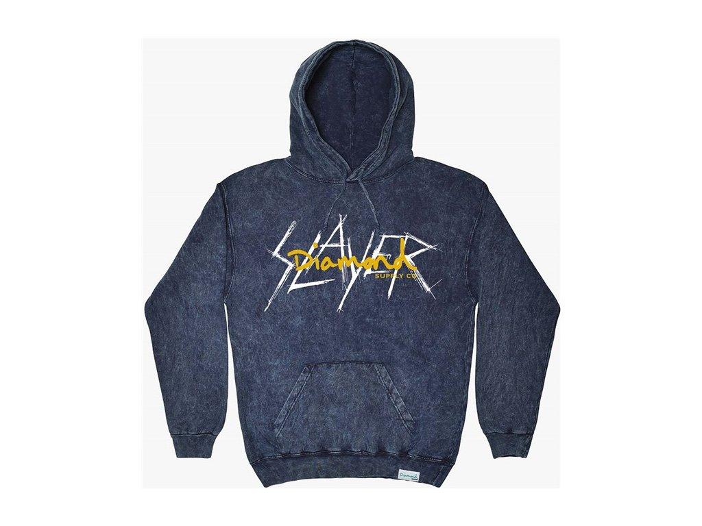 Mikina Diamond x Slayer Hoodie Navy