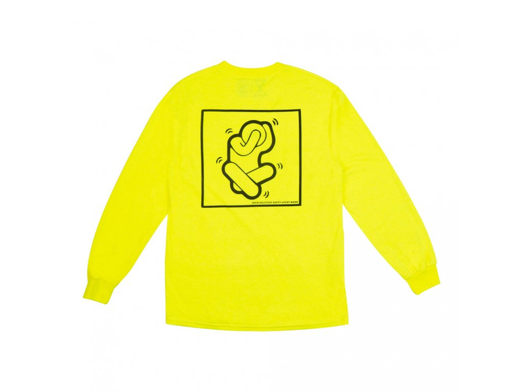 Triko SOUR Foot Angst Safety Green Longsleeve