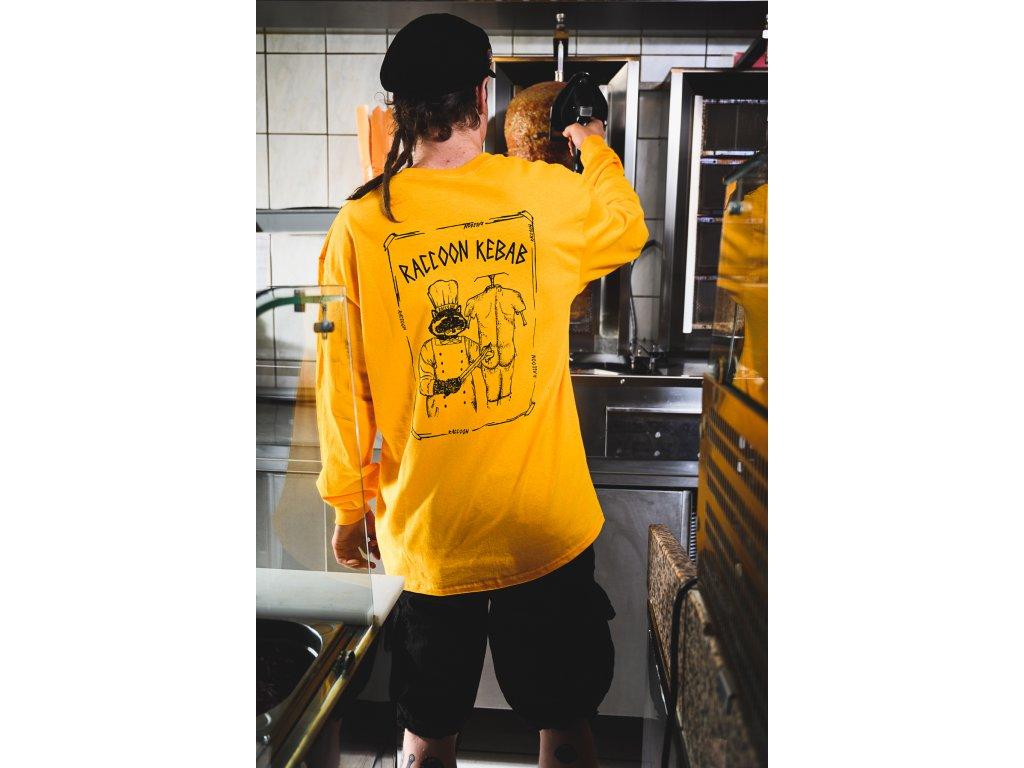 Triko Raccoon Kebab Yellow