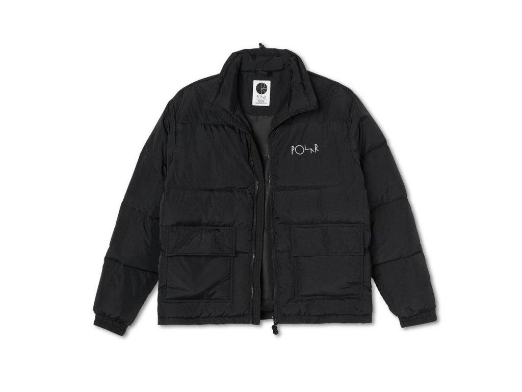 Péřová bunda Polar Pocket Puffer Black