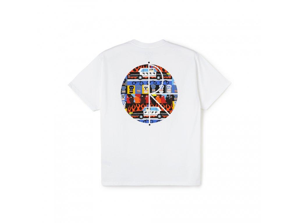 Triko Polar ACAB Fill Logo Tee White