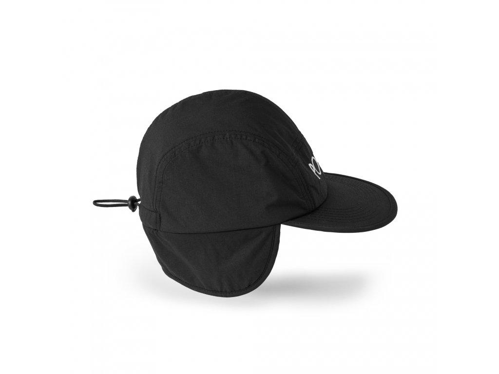 FLAP CAP BLACK 2