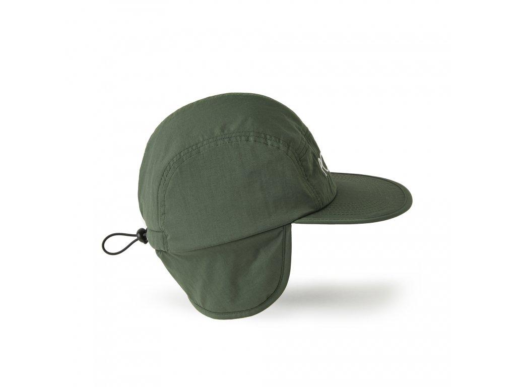 FLAP CAP ARMY GREEN 2