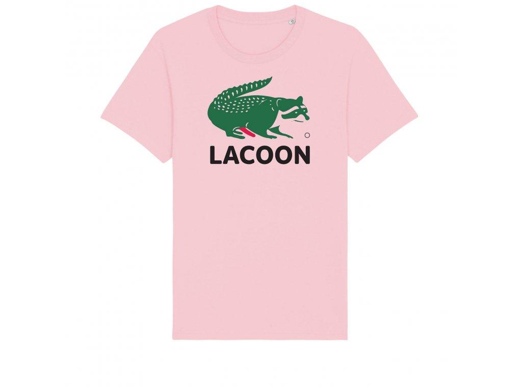 Triko Raccoon Laccoon Pink
