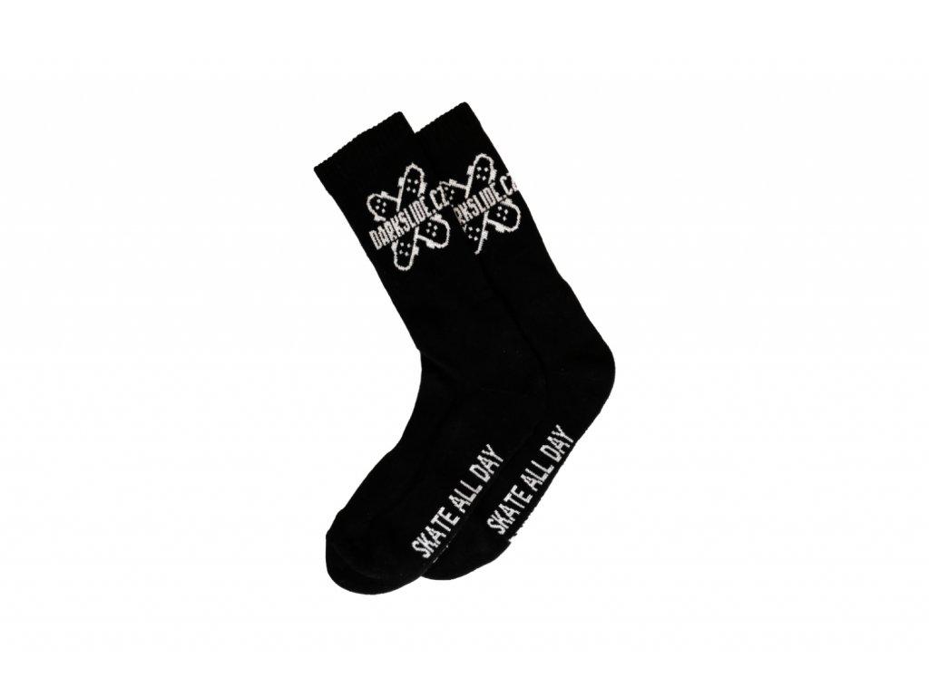 Ponožky Darkslide Crew Black/White