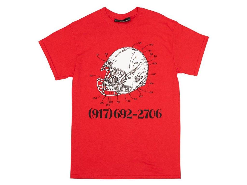 Tričko Call Me 917 Football Red