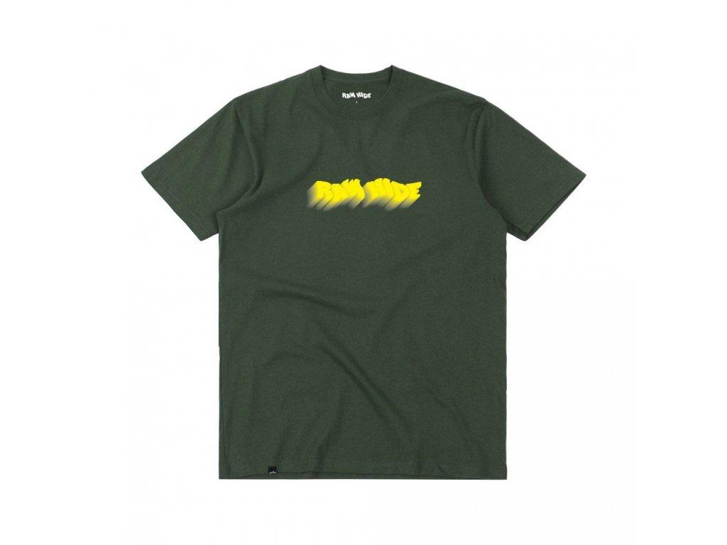 Tričko Raw Hide OG Logo Forest Green