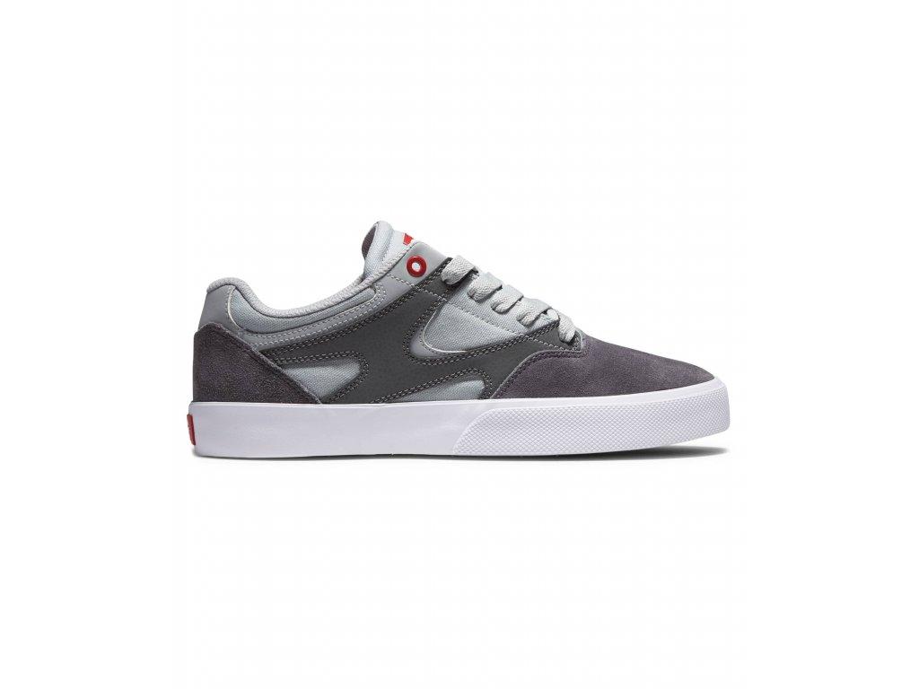Boty DC Kalis Vulc S Grey/Grey/Red
