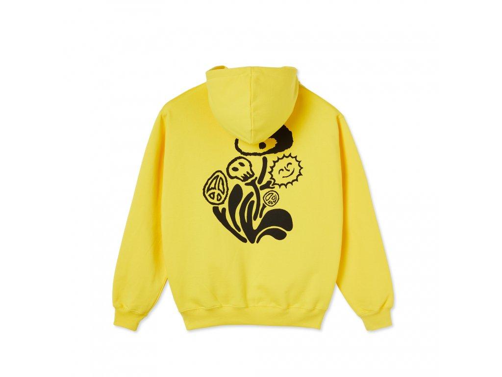Mikina Polar Trippin' Hoodie Lemon