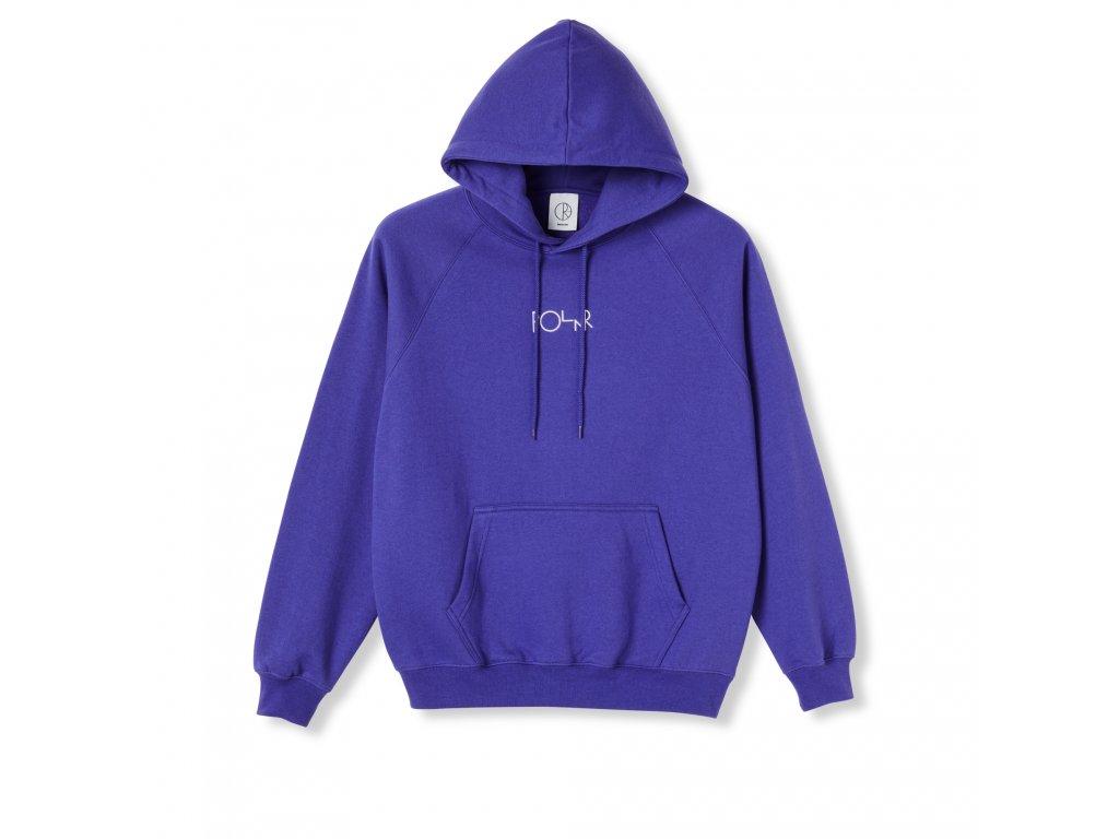 Mikina Polar Default Hoodie Purple