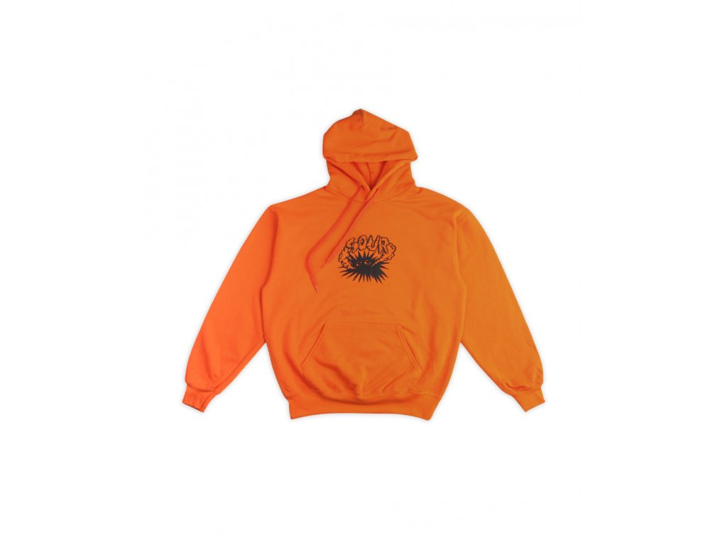 Mikina SOUR Smokey Stroll Hood Orange
