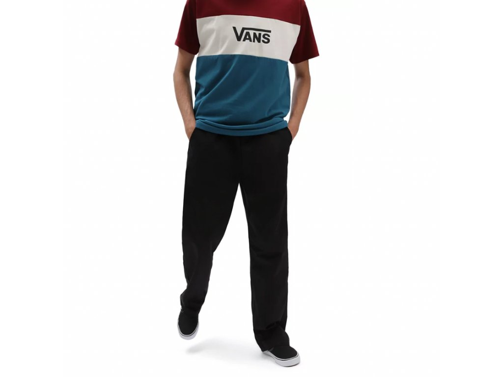Kalhoty Vans Authentic Chino Loose Black