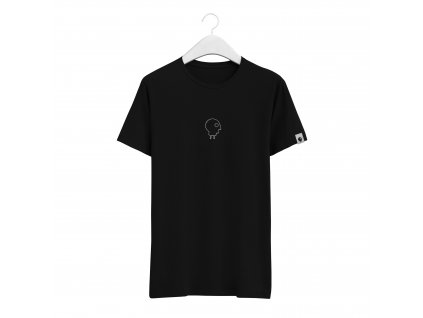 Triko Charge skateboards Embroidered Black