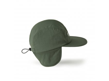 FLAP CAP ARMY GREEN 2