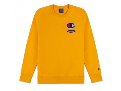Mikina Kamuflage x Champion Yellow