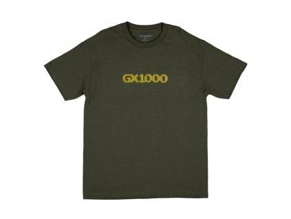 Triko GX1000 Dithered Logo Military Green