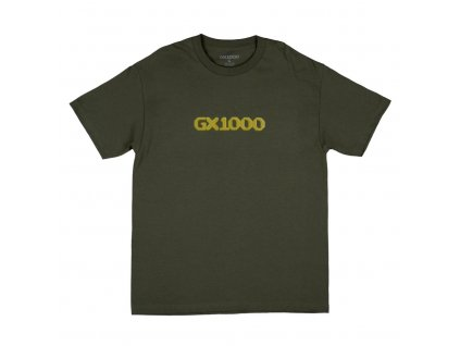 Triko GX1000 Dithered Logo Military Green